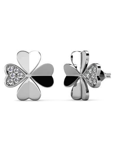 Clover Petal Earrings -...