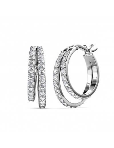 Duo Circlet Earrings -...