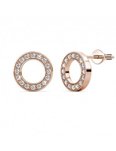 Annulus Earrings - Rose...