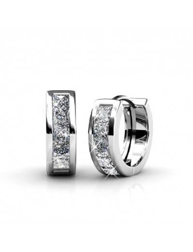 Square Hoop Earrings -...