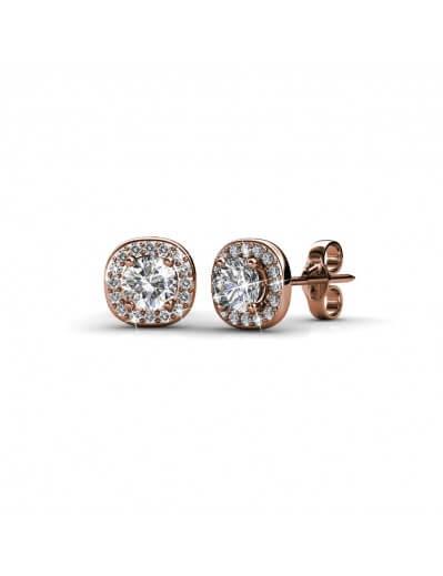 Cushy Earrings - Rose Gold...
