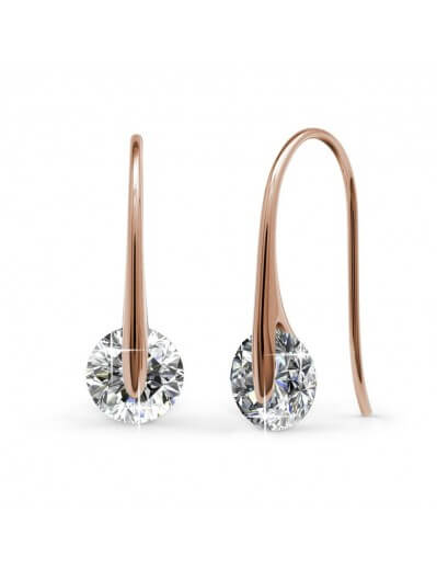 Classy Earrings - Rose Gold...