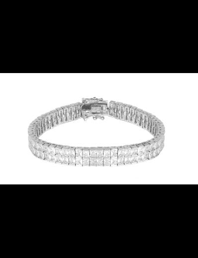 Bracelet Mathilde - Argenté...