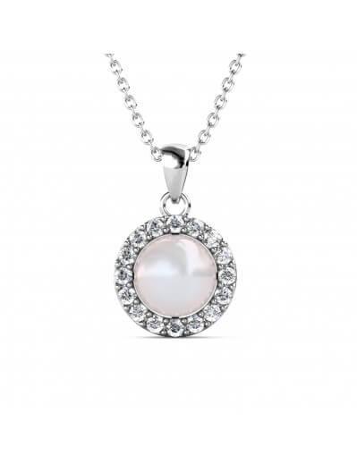 Circlet Pearl Pendants -...