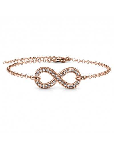 Bracelet Infinity Eight -...
