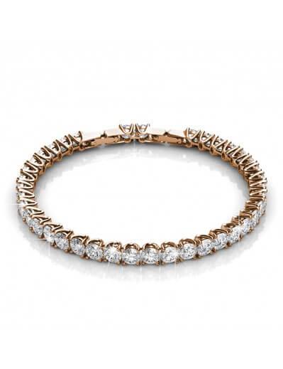 Bracelet Venus - Or Rosé et...