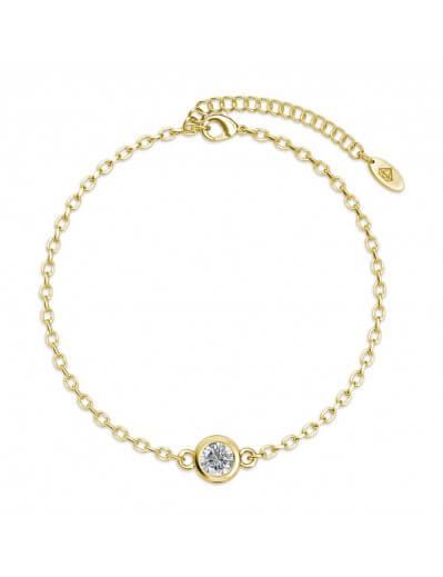 Birth Stone Bracelet - Gold...