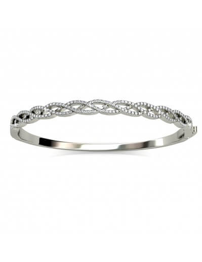 Braided Bracelet - Silver...