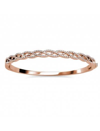 Braided Bracelet - Rose...