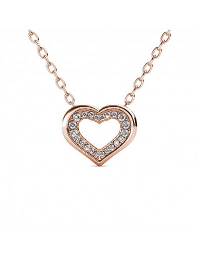 Zeal Necklace - Rose Gold...