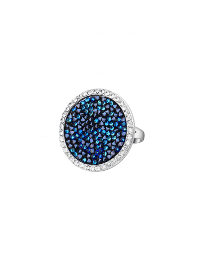 Océan Ring - Silver and Blue