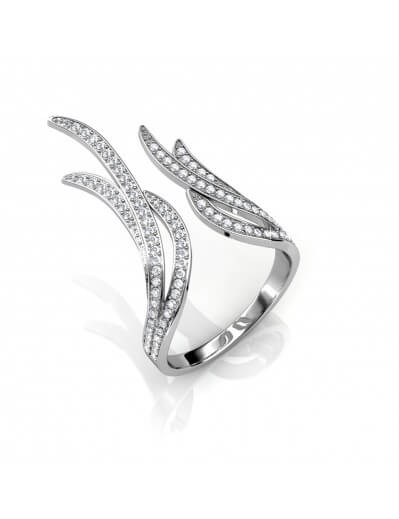 Frayel Ring - Silver and...
