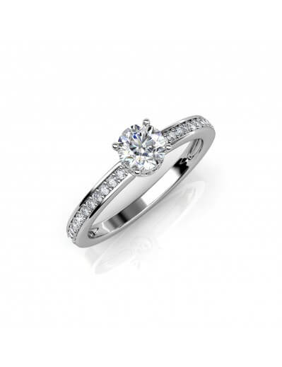 Elise Ring - Silver and...
