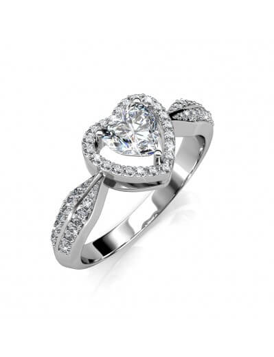 Only Love Ring - Silver and...