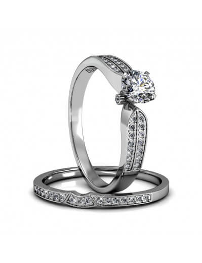 Empress Ring - Silver and...