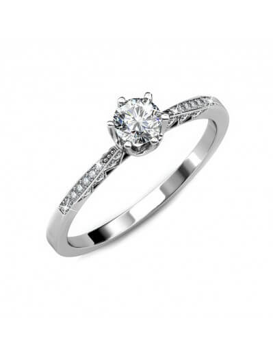 Destiny Ring - Silver and...
