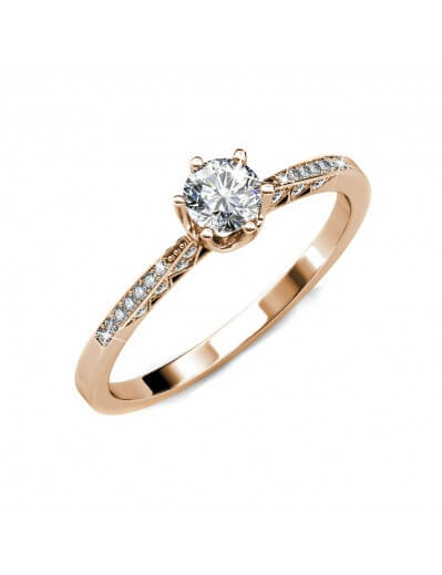 Destiny Ring - Rose Gold...