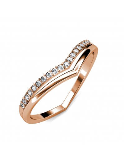 Tiryns Ring - Rose Gold and...