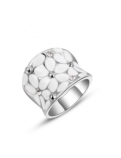 Daisy Ring - Silver and...