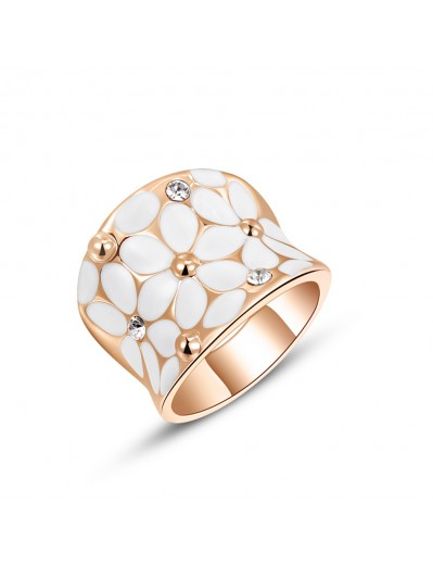 Daisy Ring - Rose Gold and...