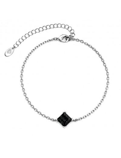Bracelet Calle - Argenté et...