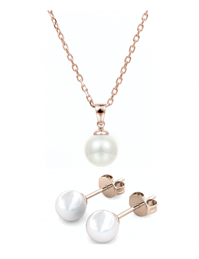 Parure Mother of pearl - Or...