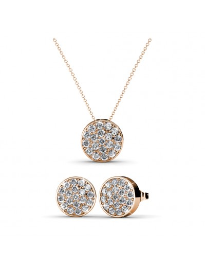 Round Set - Rose Gold and...