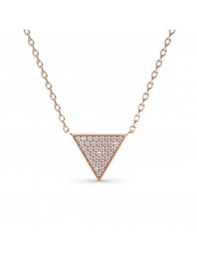 Veron Necklace - Rose Gold...