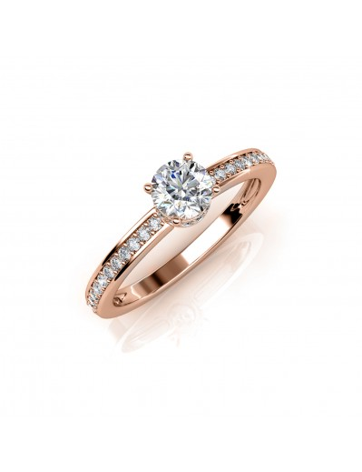 Elise Ring - Rose Gold and...