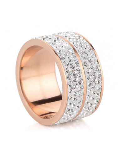 Elyna Ring - Rose Gold and...