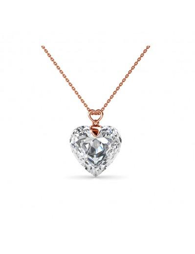 Pendentif Cheery heart - Or...