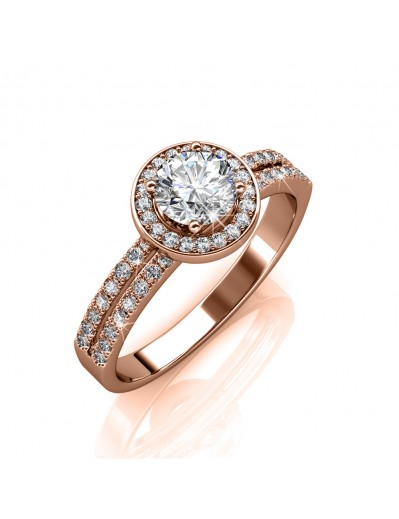 Dylis Ring - Rose Gold and...