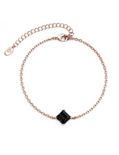 Bracelet Calle - Or Rosé et...