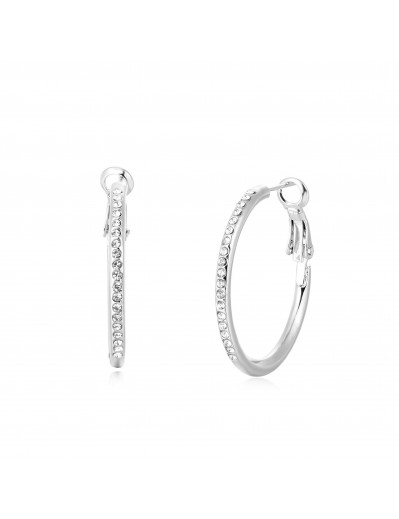 Lola Earrings - Silver and...